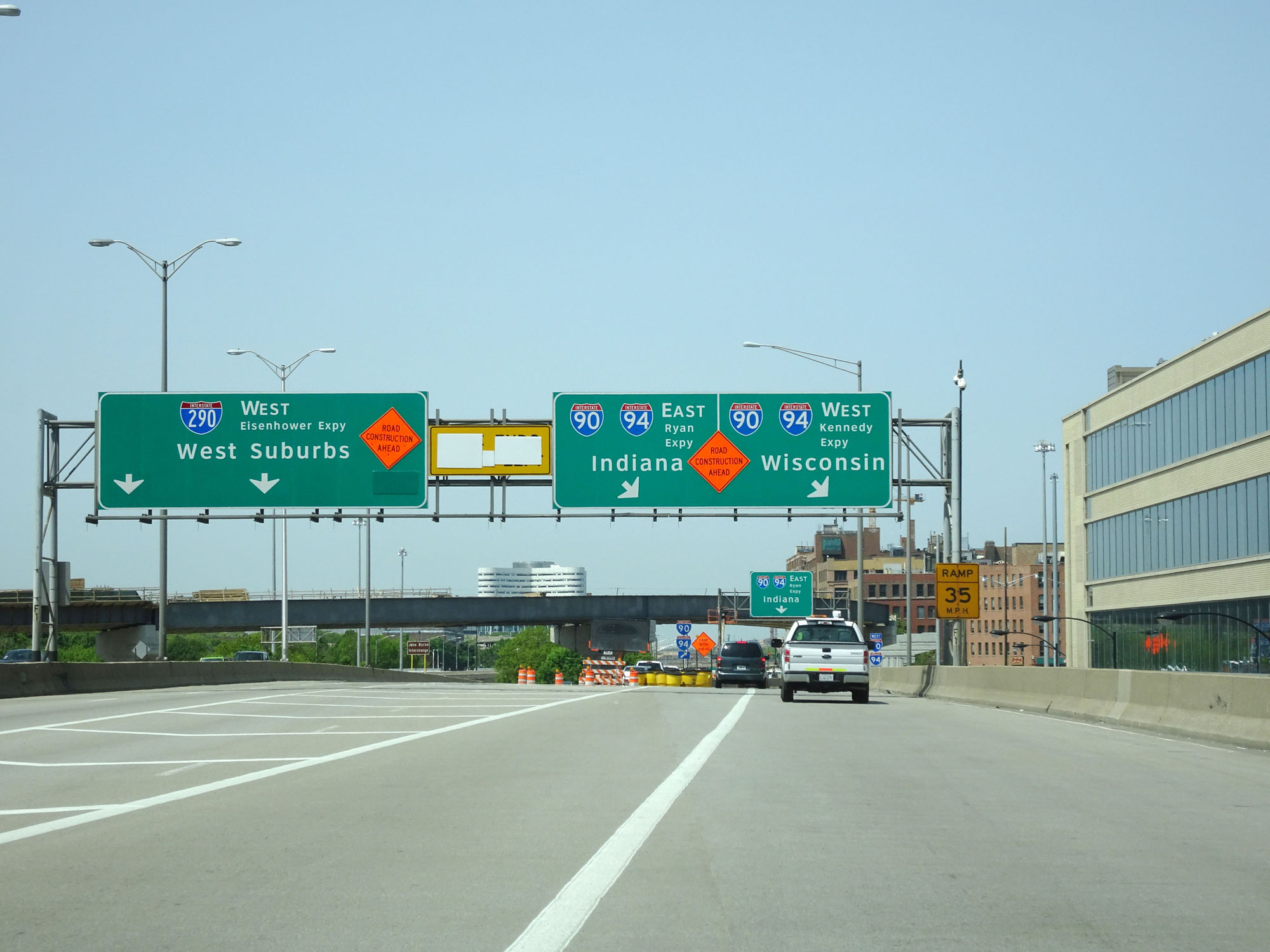 Photos illinois interstate 290 westbound for I 90 construction