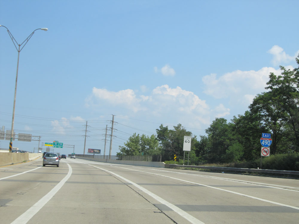Photos: Ohio - Interstate 490 Eastbound | CrossCountryRoads