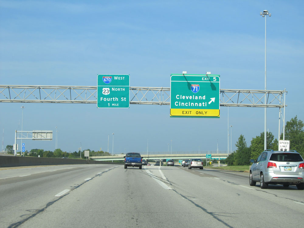 Cleveland Cincinnati Sign Freeway Pictures to Pin on ...