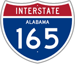 Interstate 165 in Alabama
