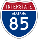 Interstate 85 in Alabama