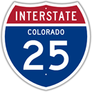 Interstate 25 in Colorado
