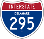 Interstate 295 in Delaware