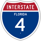 Interstate 4 in Florida