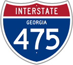 Interstate 475 in Georgia