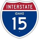 Interstate 15 in Idaho
