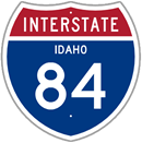 Interstate 84 in Idaho