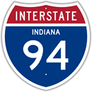 Interstate 94 in Indiana