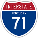 Interstate 71 in Kentucky