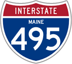 Interstate 495 in Maine
