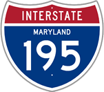 Interstate 195 in Maryland