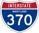Interstate 370 in Maryland