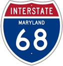 Interstate 68 in Maryland