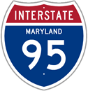 Interstate 95 in Maryland