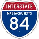 Interstate 84 in Massachusetts