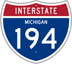 Interstate 194 in Michigan