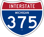 Interstate 375 in Michigan