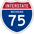 Interstate 75 in Michigan
