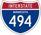 Interstate 494 in Minnesota
