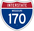 Interstate 170 in Missouri