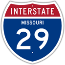 Interstate 29 in Missouri
