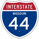 Interstate 44 in Missouri