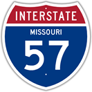 Interstate 57 in Missouri