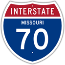 Interstate 70 in Missouri