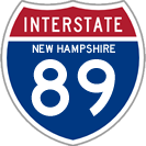 Interstate 89 in New Hampshire