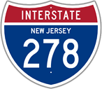 Interstate 278 in New Jersey