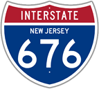 Interstate 676 in New Jersey
