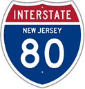 Interstate 80 in New Jersey