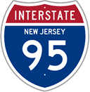 Interstate 95 in New Jersey