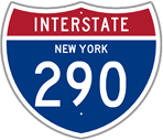 Interstate 290 in New York
