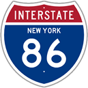 Interstate 86 in New York