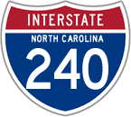 Interstate 240 in North Carolina