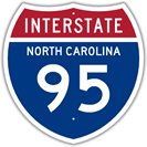 Interstate 95 in North Carolina