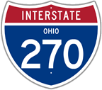 Interstate 270 in Ohio