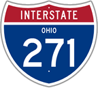 Interstate 271 in Ohio