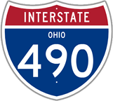 Interstate 490 in Ohio