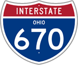 Interstate 670 in Ohio