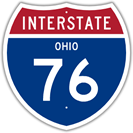 Interstate 76 in Ohio