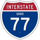 Interstate 77 in Ohio