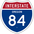 Interstate 84 in Oregon