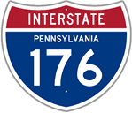 Interstate 176 in Pennsylvania