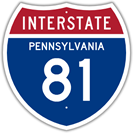 Interstate 81 in Pennsylvania