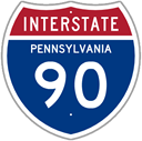 Interstate 90 in Pennsylvania