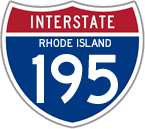 Interstate 195 in Rhode Island