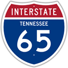 Interstate 65 in Tennessee