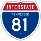 Interstate 81 in Tennessee
